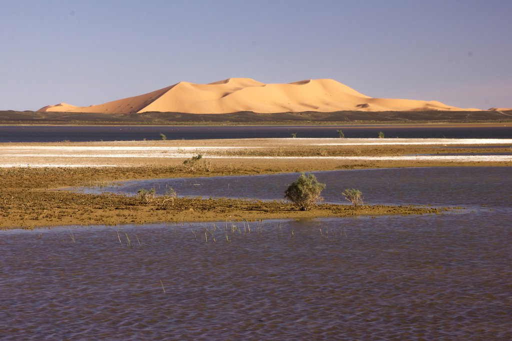 Dayet Srjii Salt Lake near Mergouza