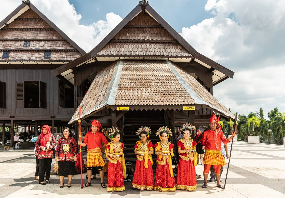 Experience a warm welcome when you arrive in Sulawesi