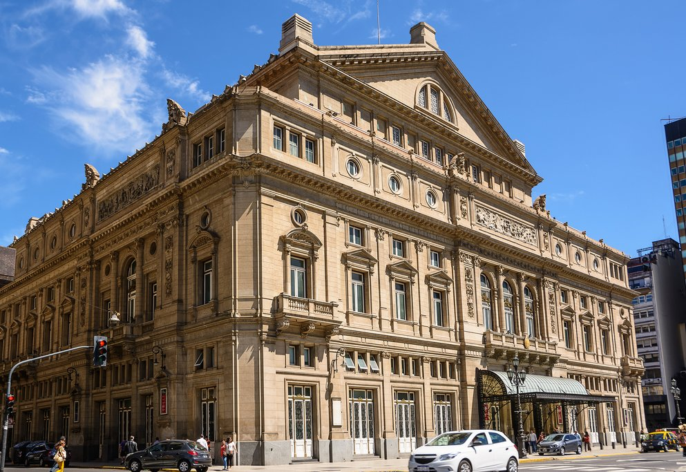 The Teatro Colón