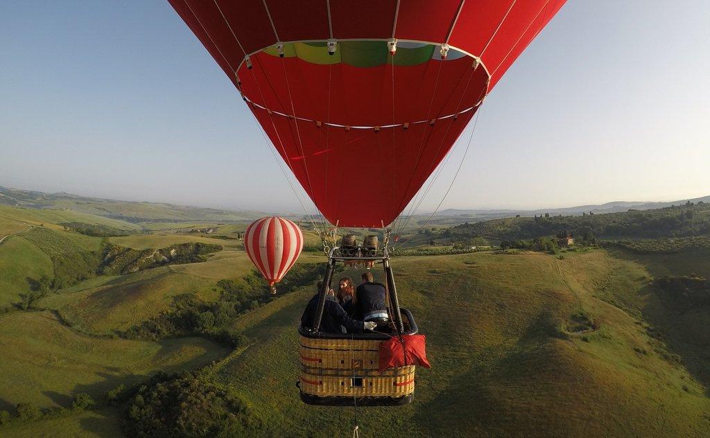 Enjoy a Hot Air Balloon Ride Over Chianti