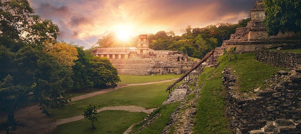 Palenque's archaelogical site