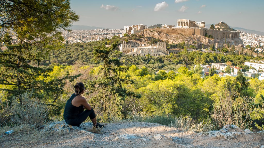 Views from Athens' Hills