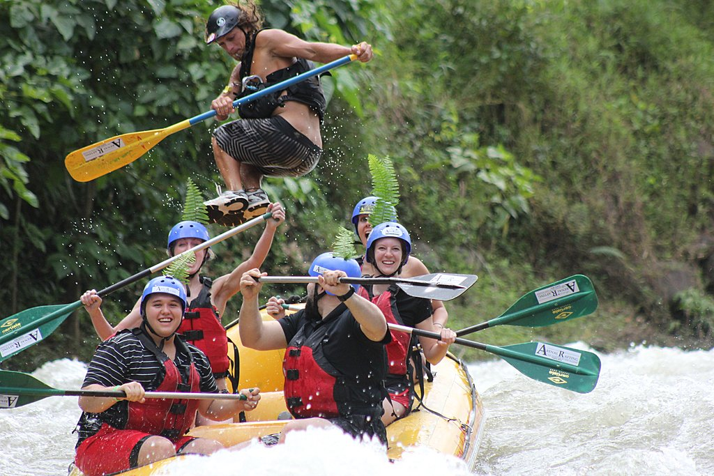 Rafting in Río Balsa