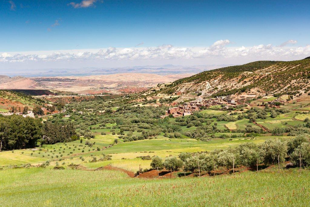 Dades Valley in the Atlas Mountains, Morocco