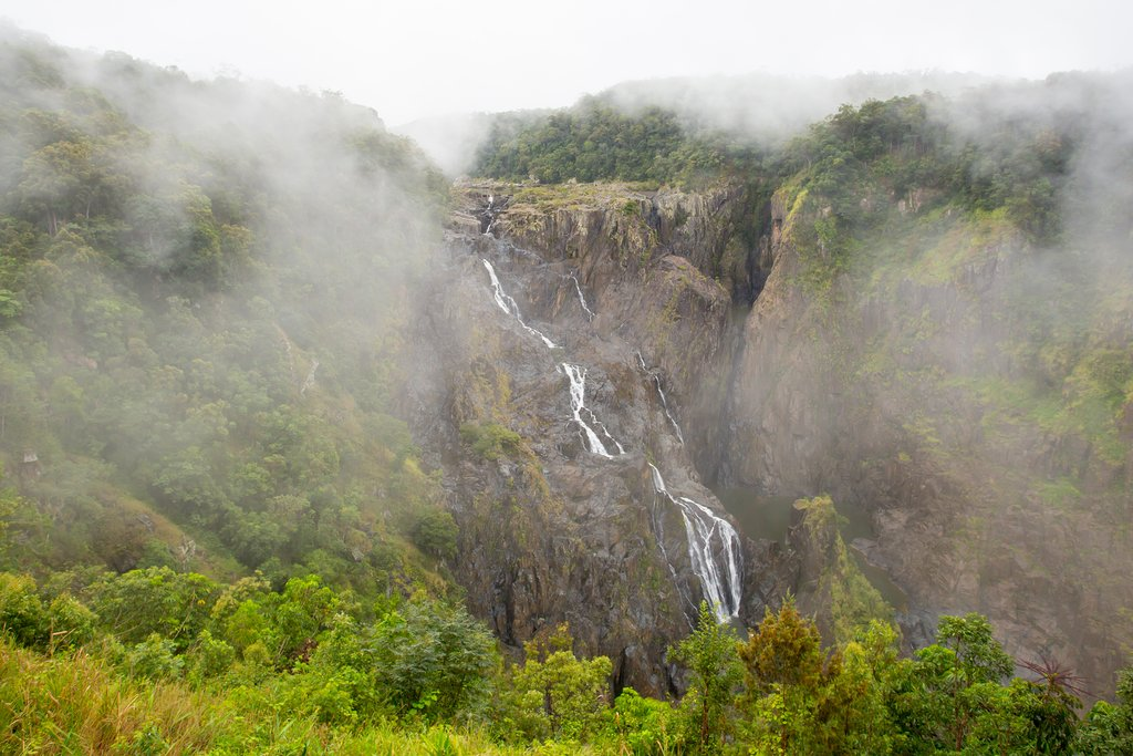 Barron Falls seen from the Kurunda Railway