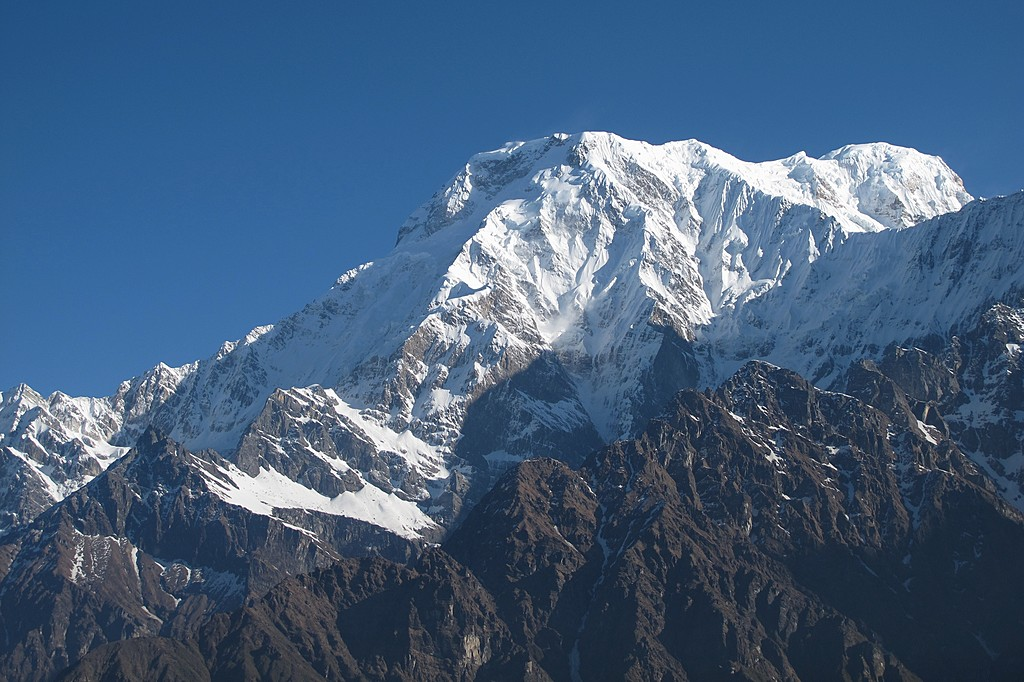 Annapurna South from High Camp