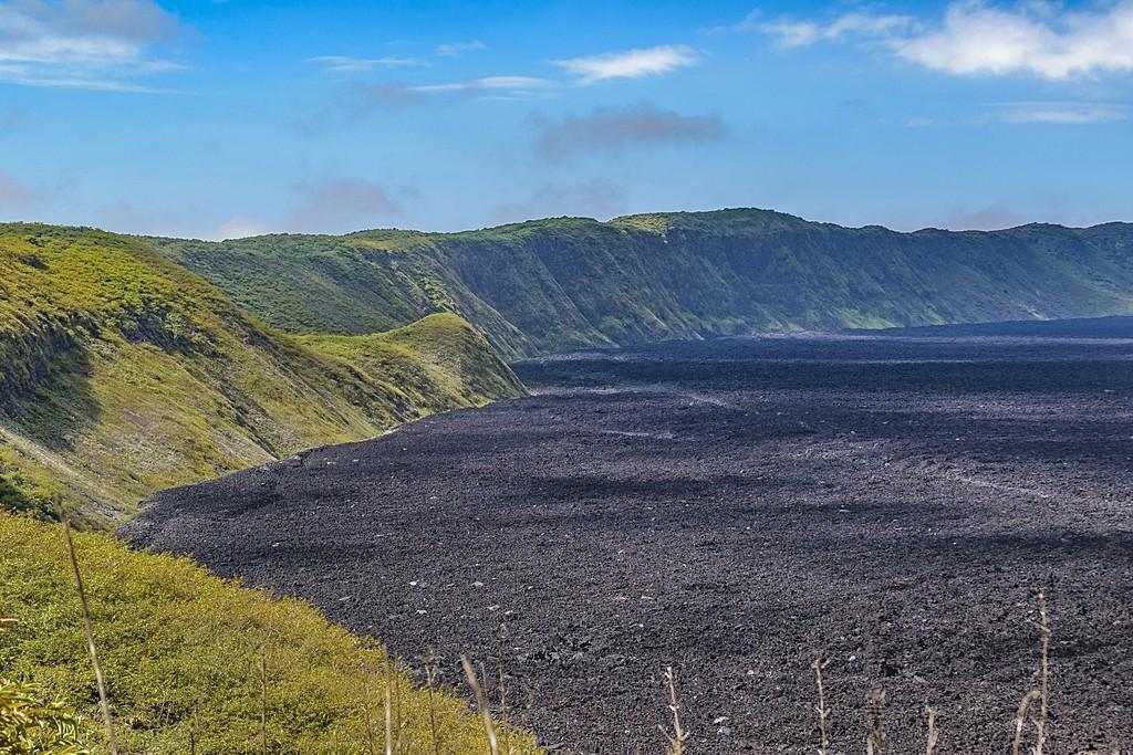 Landscape of the Sierra Negra Volcano
