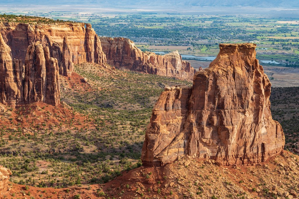 Rugged landscape of Colorado National Monument