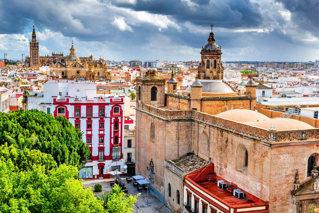 Seville's beautiful architecture