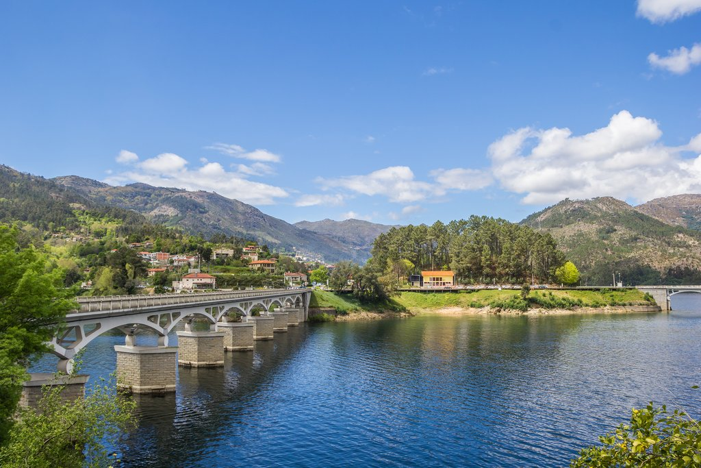 One of the stunning bridges inside Peneda-Gerês National Park