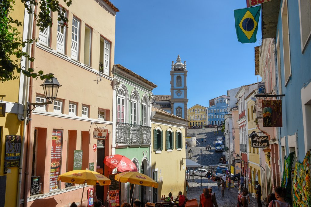The historic Pelourinho district