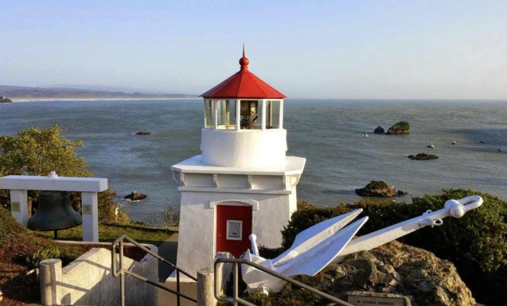 Memorial Lighthouse in Trinidad