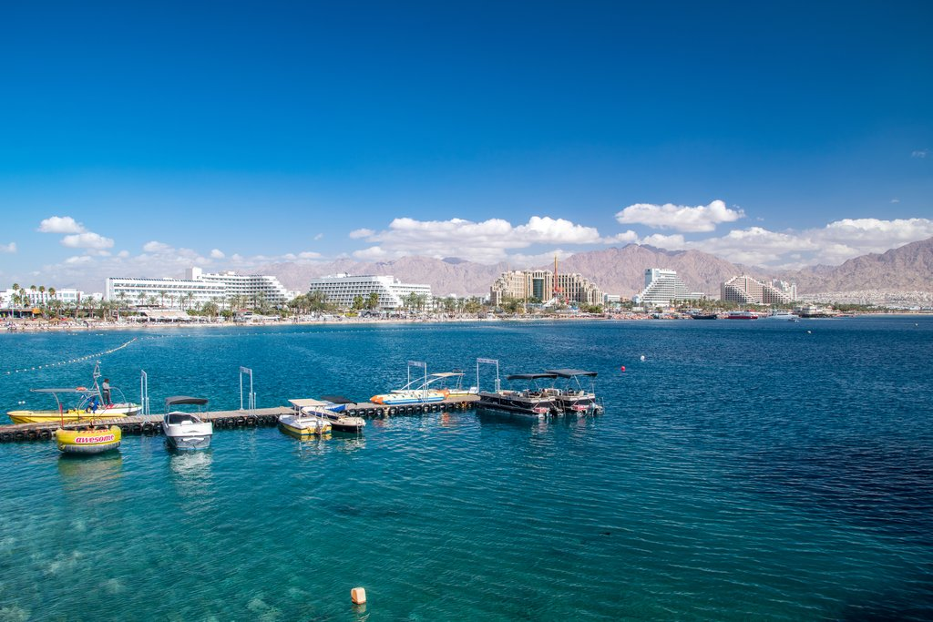 Resort town of Eilat