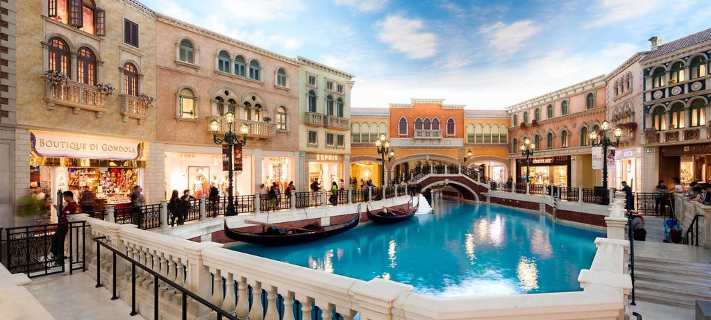 The Venetian Resort is one of many opulent casinos on the Cotai Strip