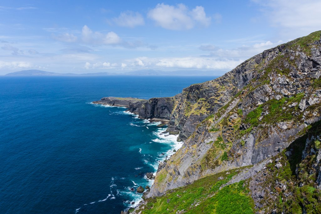 Fogher Cliffs and Valentia Island