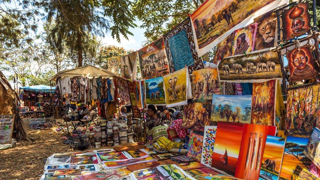 Vendors in Nairobi market