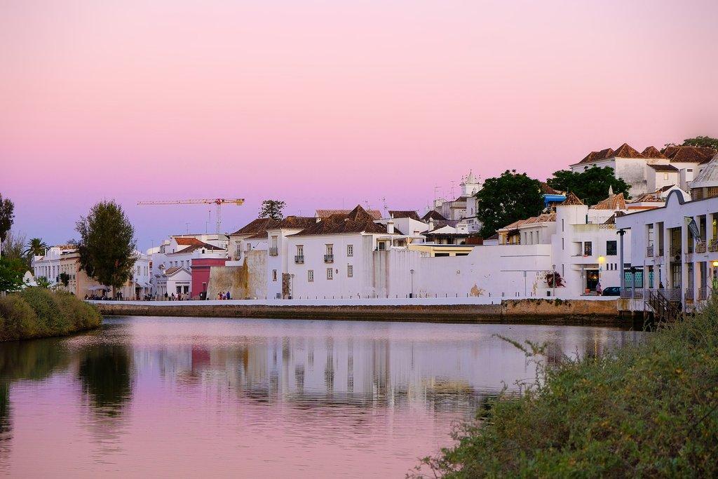 A magical sunset in Tavira