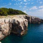 Lopud coastline