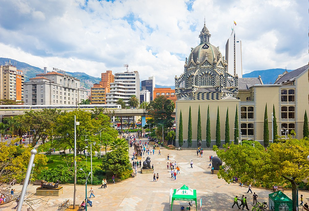 Plaza Botero, Medellín.