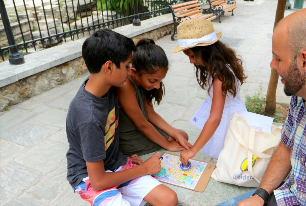 Athens Treasure Hunt for Families