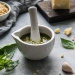 Fresh pesto, a Cinque Terre specialty