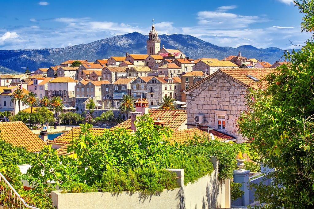 View across Korčula Town