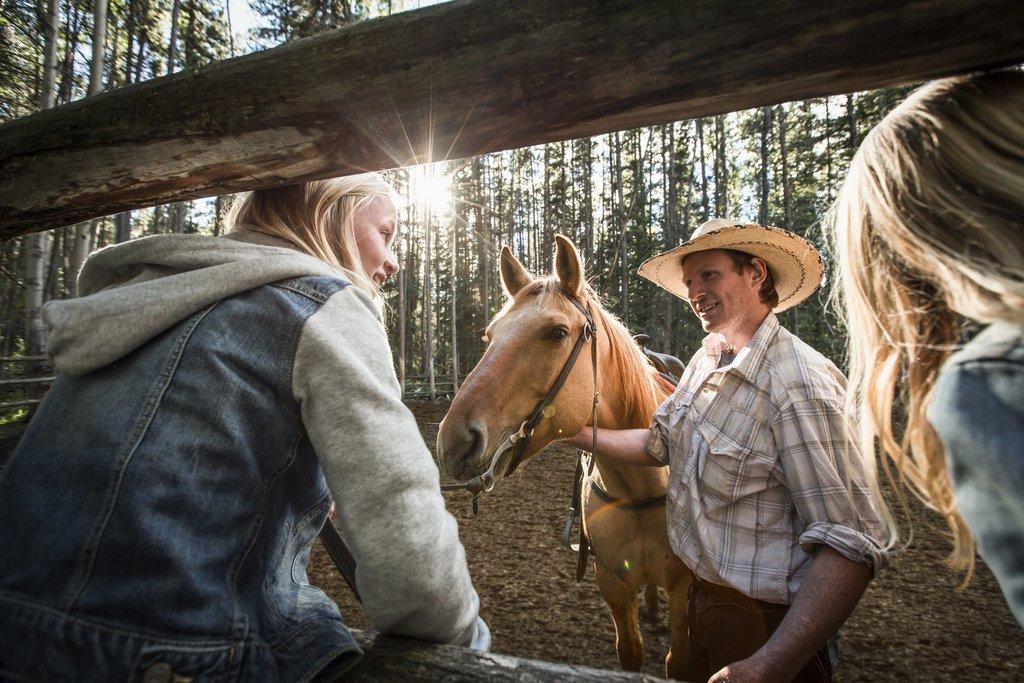 Trail riding near Banff (Noel Hendrickson)