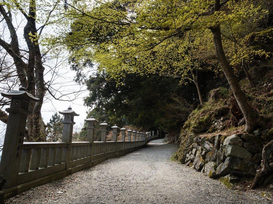 Gravel Path Leading to Temple 12, Shosan-ji