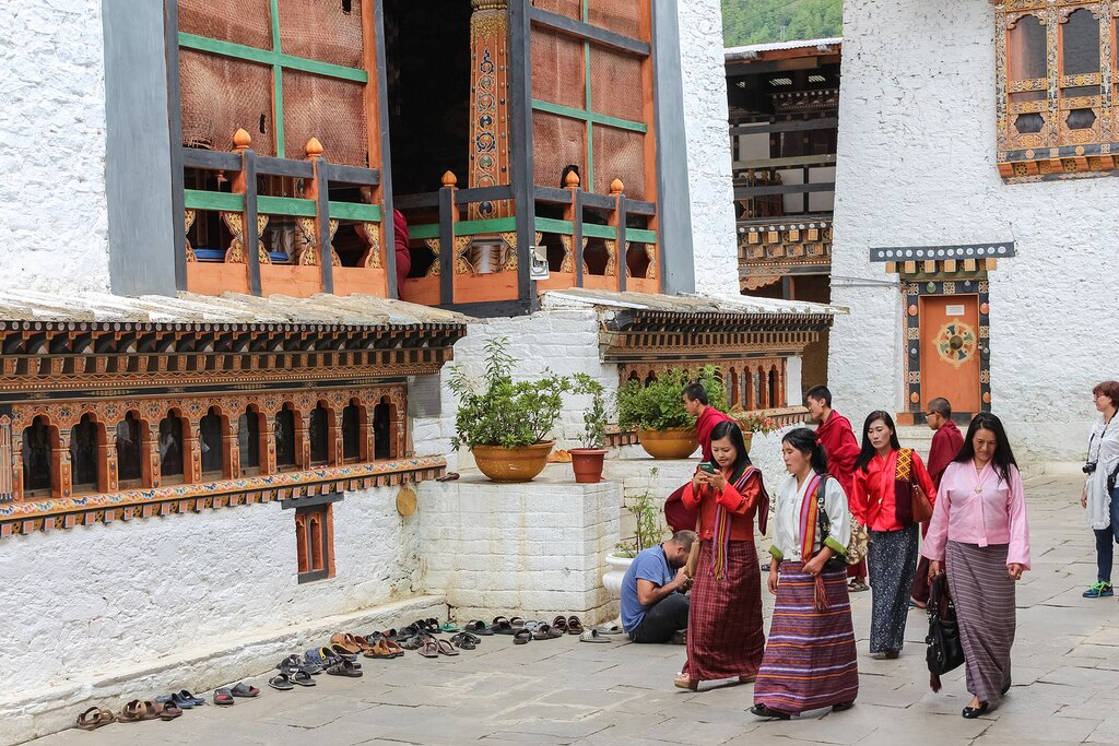 Chimi Lhakhang (Monastery of Fertility) in Bhutan