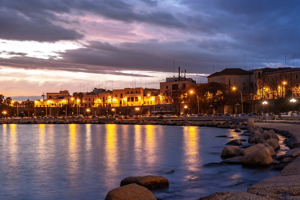 Bari at Sunset