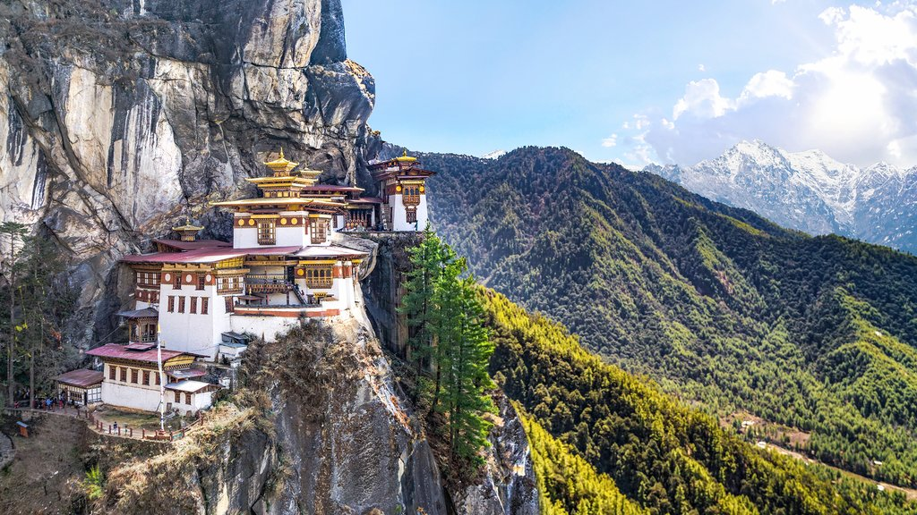 The magnificent Tiger's Nest Monastery