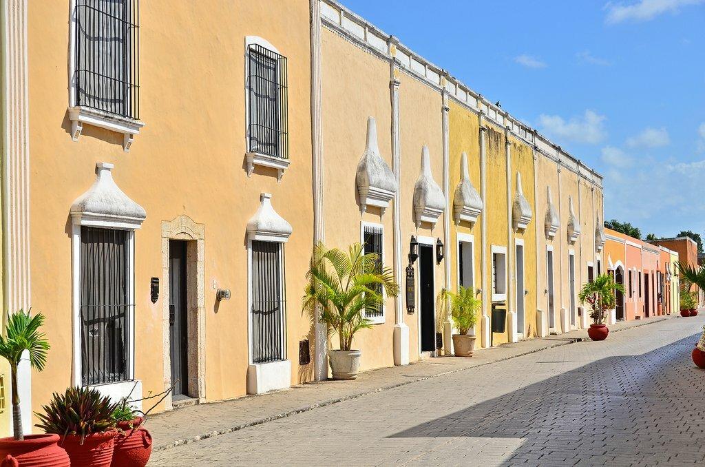 Colorful Spanish architecture