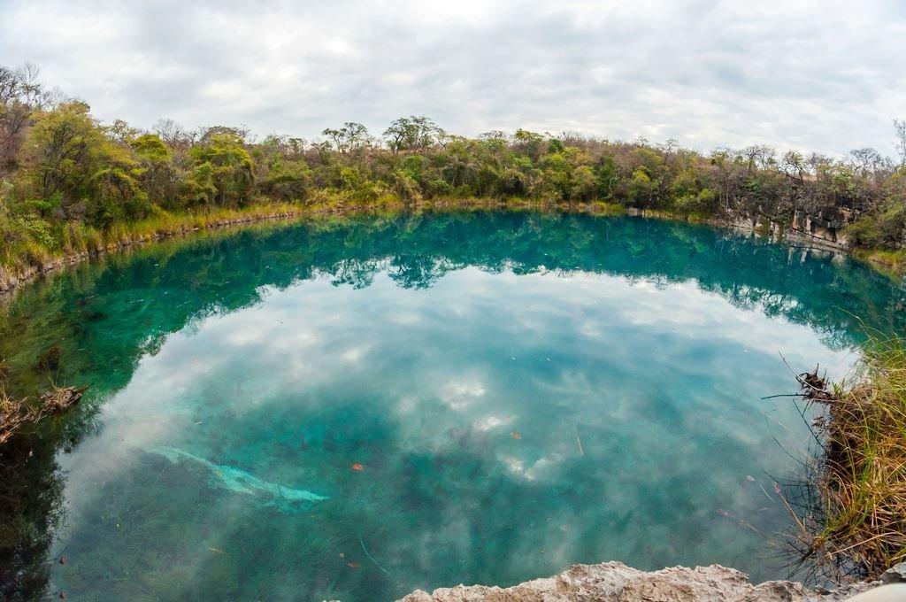 Cenote de Candelaria, Huehuetenango.