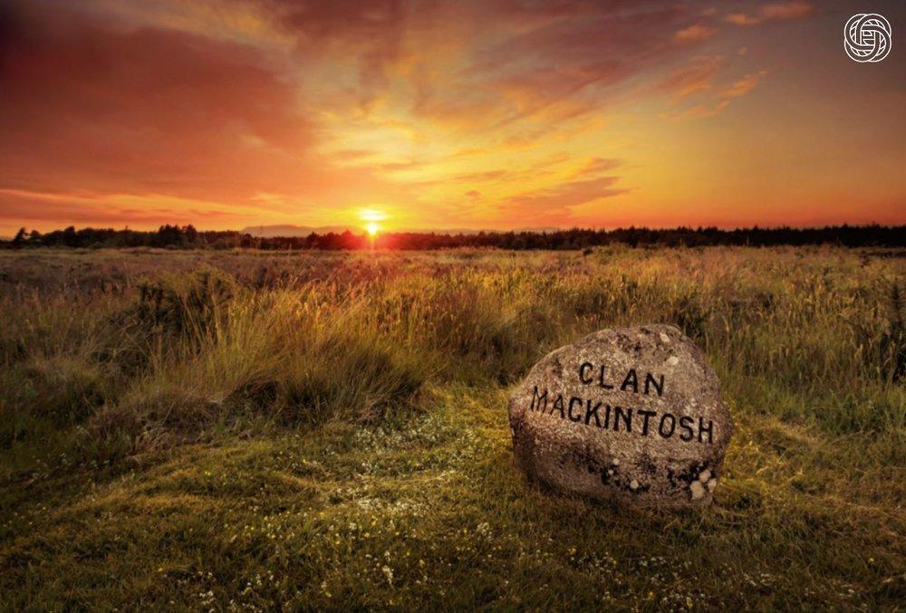 Sunrise over Culloden Battlefield.