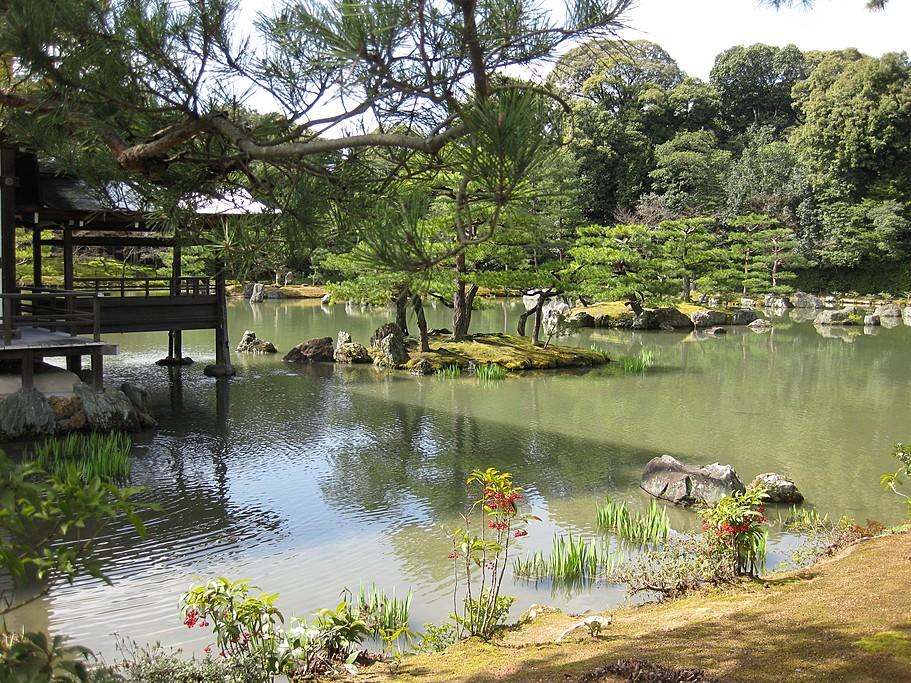 Temple Gardens in Kyoto