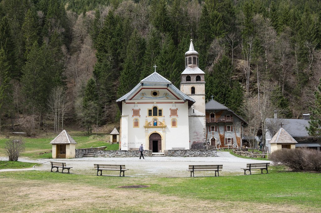 Church in Contamines-Montjoie
