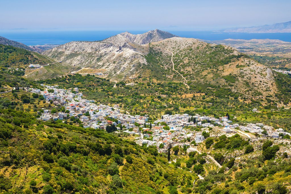 Village views on Naxos