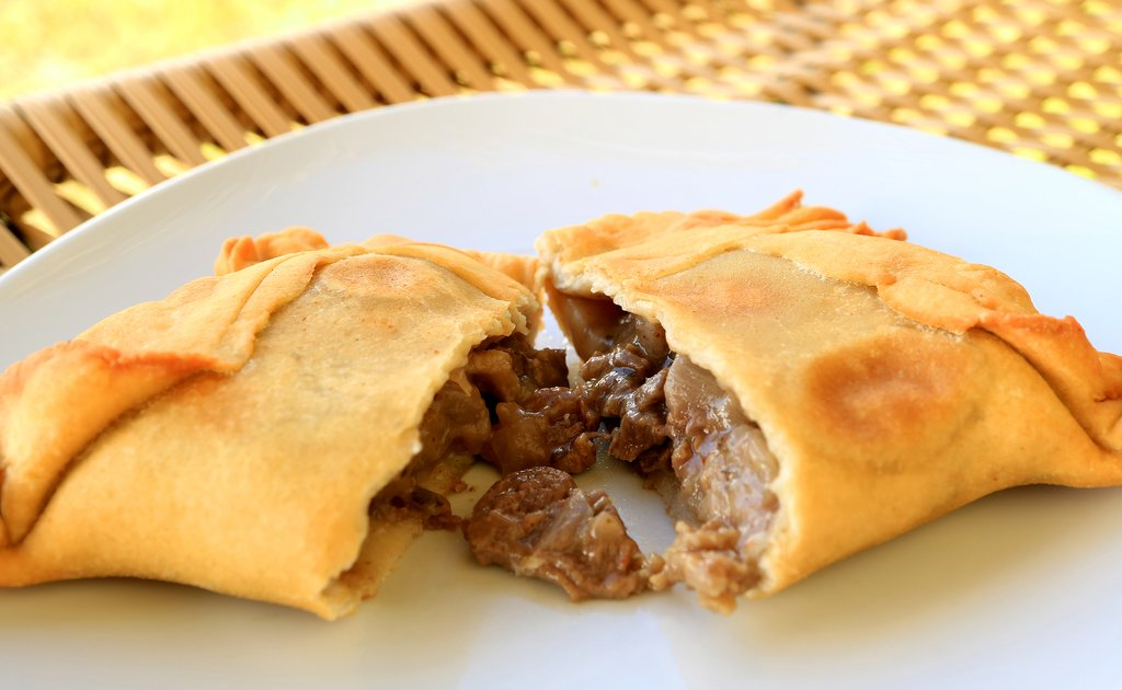 Savor some tasty Chilean empanadas on a food tour