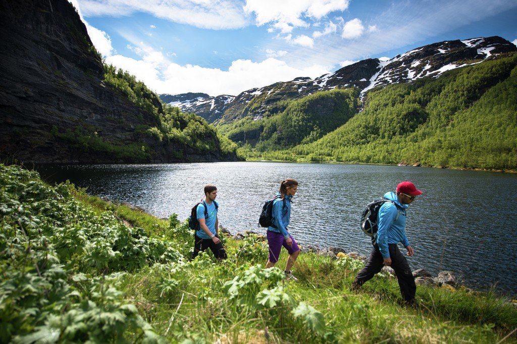 Hiking in Aurland