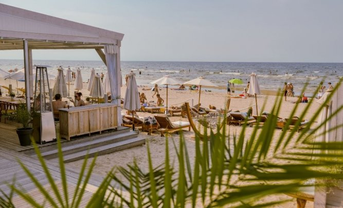 A Beach Resort in Jurmala