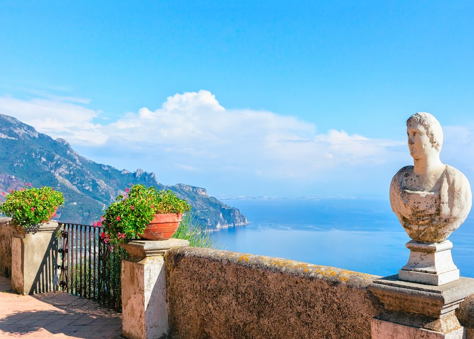 View from the Villa Cimbrone terrace