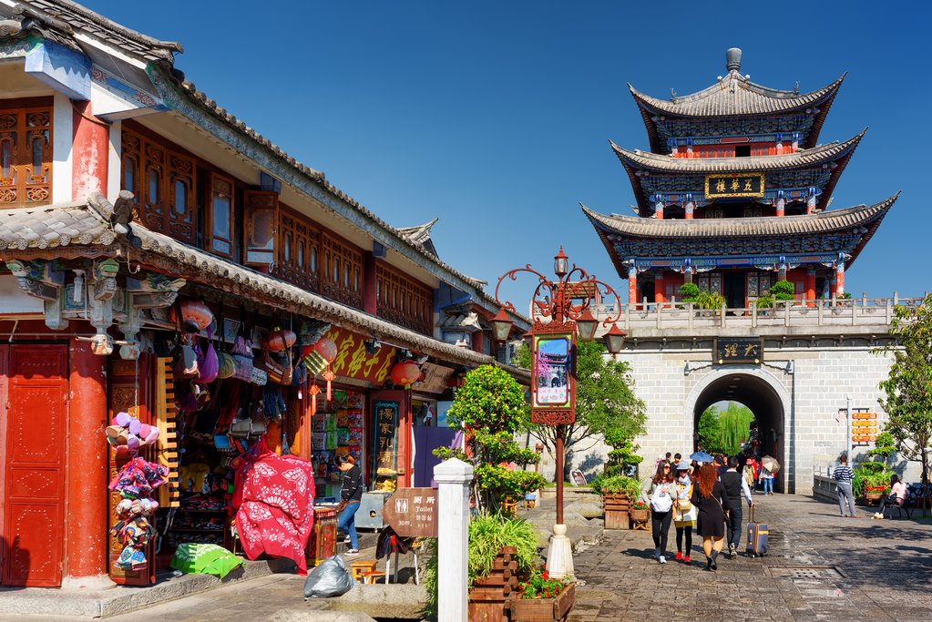 Wuhan Tower in Dali Ancient City