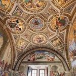Ceiling of Stanza della Segnatura in the Stanze di Raffaello