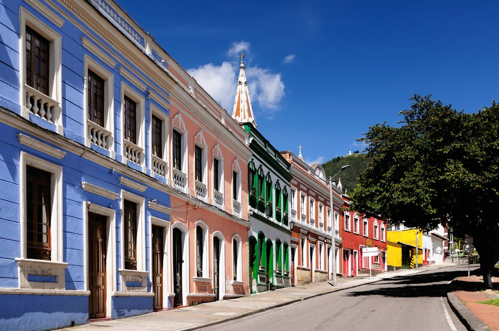 Colonial buildings, Bogota, Colombia