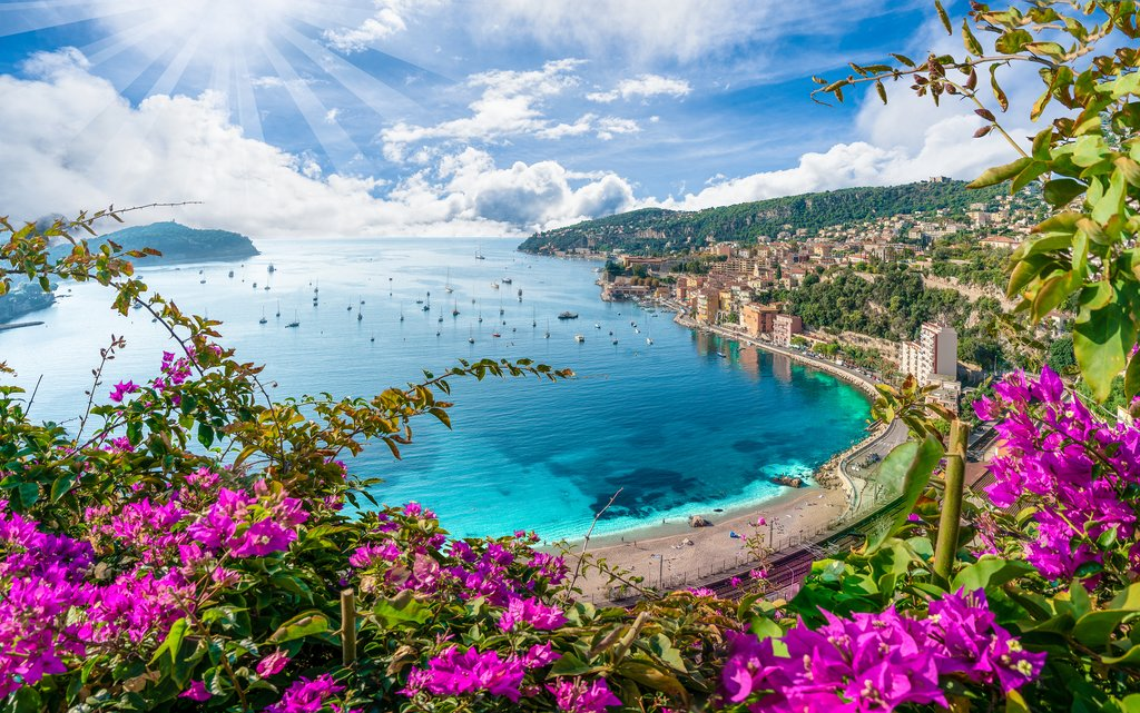 Villefrance-du-Mer and Mediterranean
