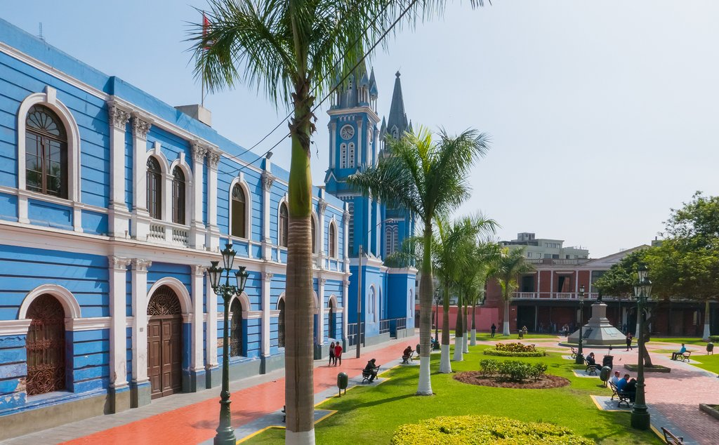 Spanish colonial architecture in Peru's capital