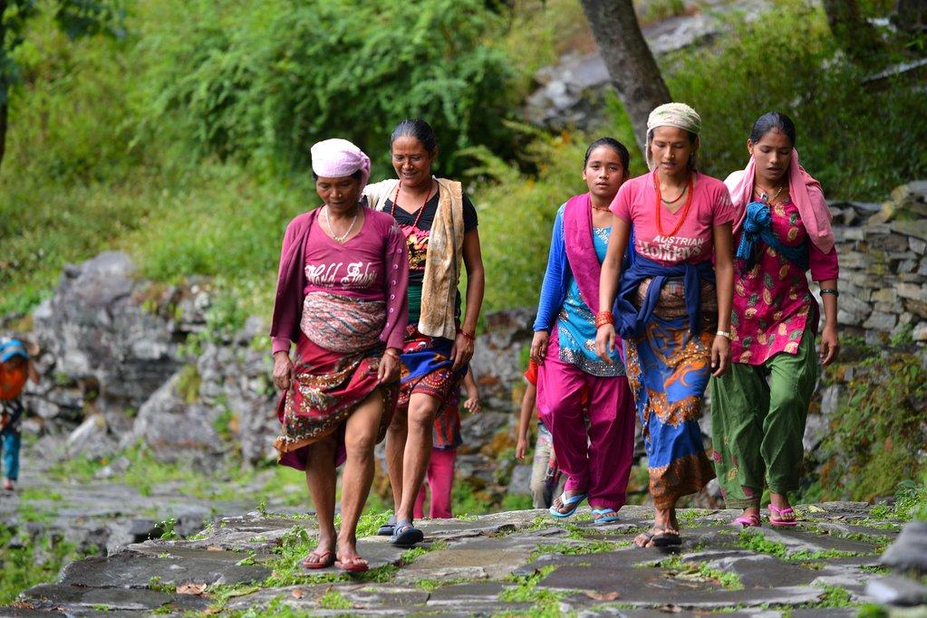 Gurung women, nepal
