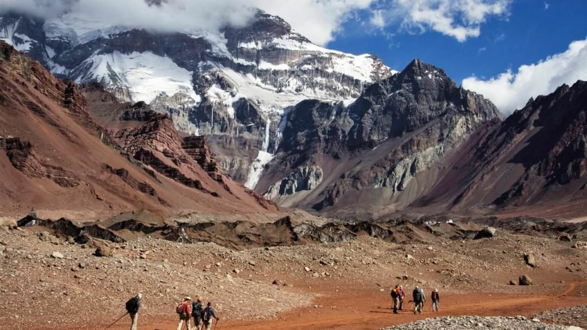 The magnificence of Aconcagua's South Face
