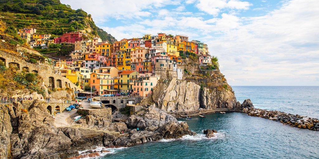 Beautiful Shores of Manarola