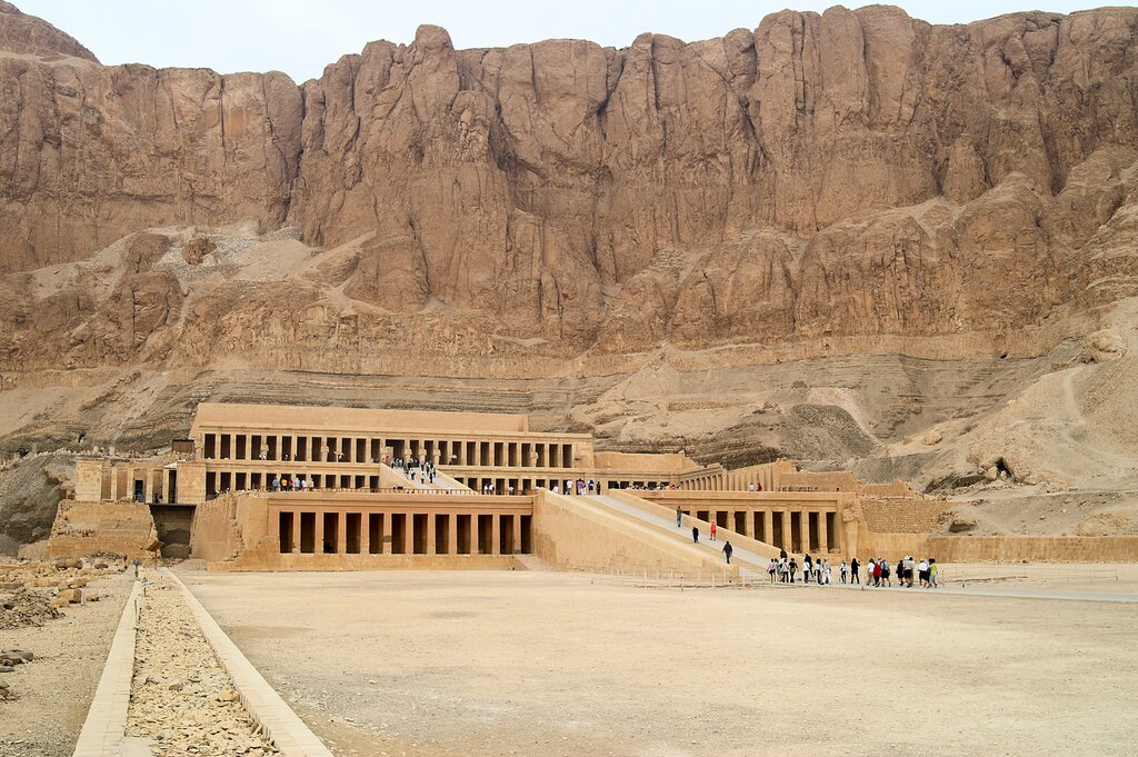 The Temple of Hatshepsut (Deir-al-Bahri) in Luxor